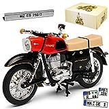 Atlas MZ ES 250 1957-1972 Version 2 1967-1973 Rot DDR 1/24 Modell Motorrad