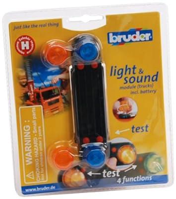 Bruder 02801 - Zubehör: Light& Sound Modul (Lastkraftwagen) von Bruder