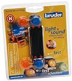 Bruder 02801 - Zubehör: Light & Sound Modul