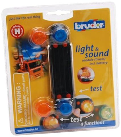 Bruder 02801 - Zubehör: Light& Sound Modul (Lastkraftwagen) (Kingdom Modul)