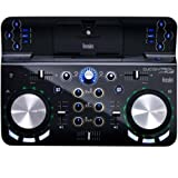 Hercules DJ Control Wave (2-Deck DJ Controller, Bluetooth, 8h Akku, DJUCED 40°, PC / Mac / iOS)