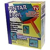 Rodillo de pintura recargable PINTAR FACIL con extensión de palos y jarra de...