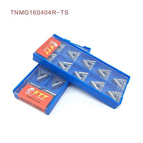 10pcs tnmg160404r-ts externe drehwerkzeuge carbide einfügen drehbank schneidwerkzeug tokarnyy sich einfügen