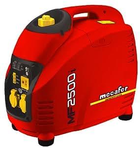 Mecafer 450125 Groupe électrogène inverter 4 temps 2500 W