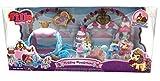 FILLY Set Wedding - märchenhafte königliche Hochzeit der Einhörner, Spielset mit zwei kleine Hirsche, eine Zauberkutsche und Zubehör