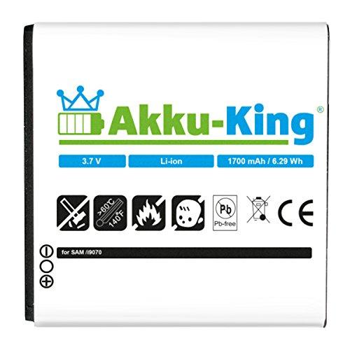 Akku-King - Batteria per Samsung Galaxy S Advance GT-i9070 / i9070P - Li-Ion sostituita EB535151VUCSTD
