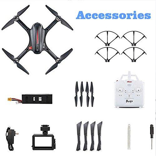 MJX B3 Profi Quadrocopter Drohne mit Aktionkamera-Halterung für Gopro Bürstlose Motoren 6A Elektrizitätsregulierung 2.4G Fernsteuer 4CH 6-Achsen Gyro 3D Rollen Funktion Drone für Profi Training Standard Version ohne Kamera und Gimbal - 6