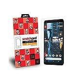 #9: Google Pixel 2 Scratchgard Original Matte Anti-Glare / Anti-Fingerprint Film Screen Protector For (Front & Back)