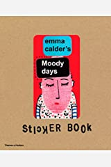 Emma Calder's Moody Days Sticker Book Hardcover