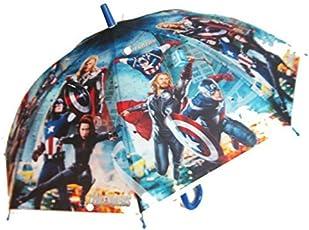 Dhinchak Artbox Boy's Fabric Printed Umbrella for Kids (Multicolour)