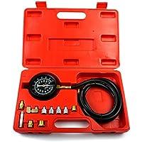 Turefans Tester pressione dellolio,misuratore di pressione olio,kit con test a compressione