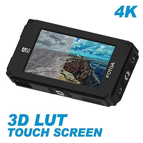 DP500IIIS A50TL 5-Zoll FHD Video On-Camera Feldmonitor Touchscreen für DSLR Kamera, 3D-LUT, 1920 x 1080, 510 cd/m², HDMI 4K-Eingang/Ausgang, NP-F970-NP-F970 NP-F550 F570 für A7 A7R II A6500 GH5/5S