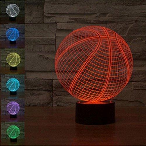 WAOBE Luz LED noche 3D Luz ilusión óptica Lámpara