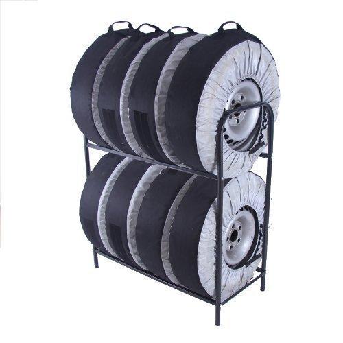 Reifenständer für 8 Reifen Ständer Reifen Reifenhalter Felgenbaum Reifenständer Reifenregal