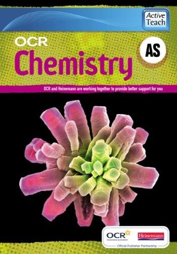 OCR A Level Chemistry A: AS ActiveTeach CDROM (OCR GCE Chemistry A)