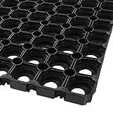Ringgummimatte Rasengitter | Octodoor | idealer Rasenschutz für Spielplätze und Gärten | 40x60cm
