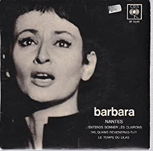 BARBARA 45 TOURS 4 TITRES