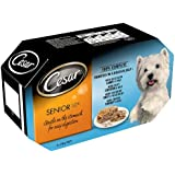 Cesar Dog Food Senior Tray Mixed Selection in Jelly 4x150g (Pack of 6, Total 24 Trays)