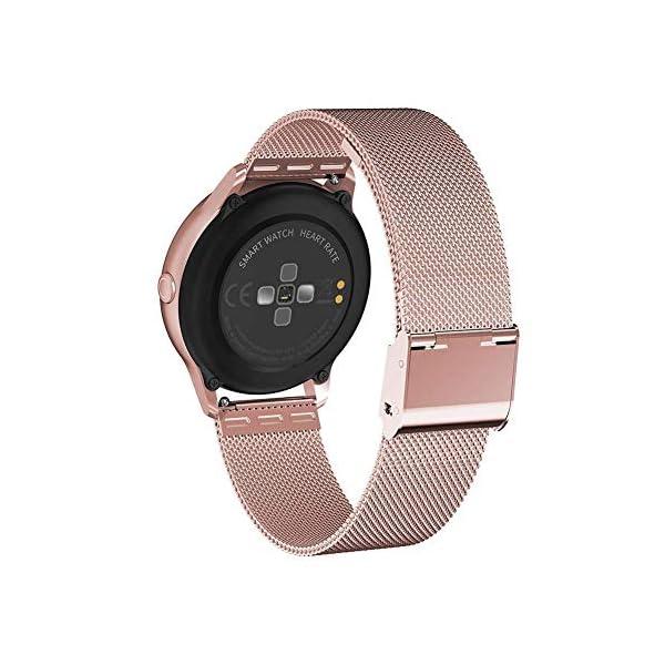 naack smartwatch, Reloj Inteligente Impermeable IP68 Pulsera de Actividad Pulsómetro Monitor de sueño Deportivo… 5