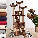 Jakocat Schnellverschluss Kratzbaum Katzenbaum Katzenkratzbaum Spielbaum Kletterbaum 173 cm Hoch Möbel für Katzen in diversen Farben