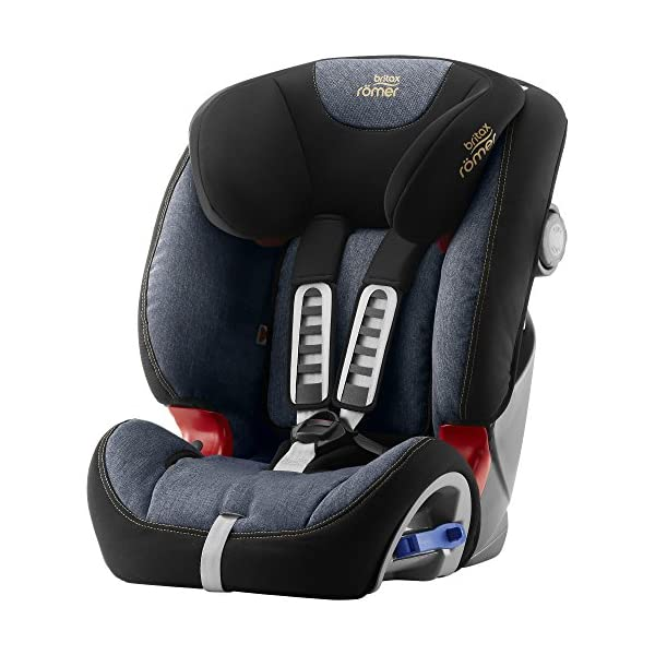 Britax Römer MULTI-TECH III Car Seat (9 Months-6 Years | 9-25 kg), Blue Marble Britax Römer This MULTI TECH III will come in a Blue Marble design cover which is made from a more premium fabric with extra detailing Enhanced side impact protection - the SICT feature offers High quality protection to your child in the event of a side collision Extended rearward facing - rearward facing car seats offer the best protection in the event of a frontal collision - the most frequent type of accident on the roads 1