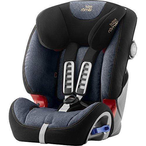 Britax Römer Kindersitz 9-25 kg, Autositz Gruppe 1/2, MULTI-TECH III, Blue Marble