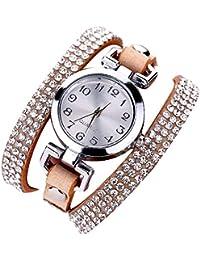 Rosepoem Reloj para Mujer Reloj de Cuarzo Reloj Pulsera Decorativa Informal Relojes  Relojes decoración 83e2319b3aee