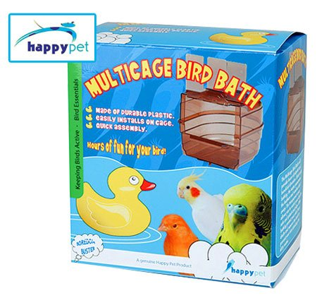 Plastic Multicage Bird Bath