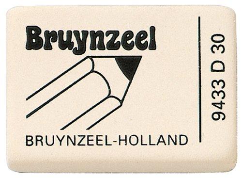 Bruynzeel Radiergummi Naturkautschuk 9433, 1 Stück