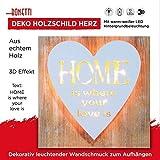 Deko Holzschild