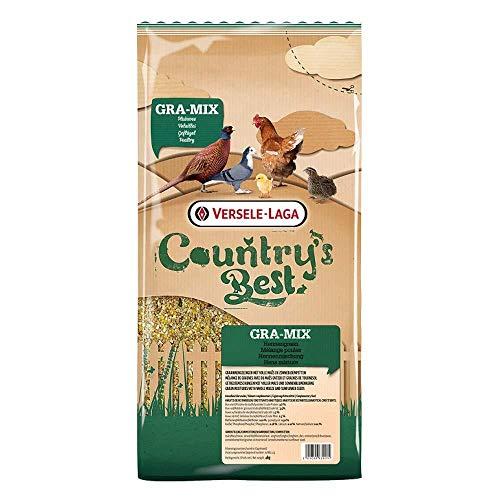 Versele Laga Countrys Best Gra-Mix Hen Mixture Hühnerfutter (4kg) (kann variieren) -