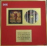 Michael Jackson–CD Álbum award-blood en la pista de baile