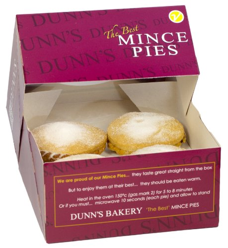 Dunn's Traditional Short Crust Mince Pies (Box of 8) Test