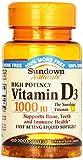 Sundown, Vitamin D-1000 Iu Softgels, 100...