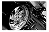 Startonight Leinwand Wand Kunst Schwarz und Weiß Sexy Rad, Doppelansicht Überraschung Modernes Dekor Kunstwerk Gerahmte Wand Kunst 100% Ursprüngliche Fertig zum Aufhängen 80 x 120 CM