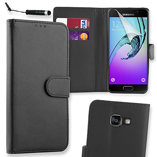 connect-zoner-samsung-galaxy-a3-2016-black-premium-pu-leather-flip-wallet-case-cover-pouch-screen-pr