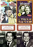 Vintage Television Comedy Bundle - The Sid Caesar Collection, Milton Berle's Buick Hour Volumes Two and Four, Red Skleton Double Feature King of LAughter and Lost Episodes 4-DVD Set Over 7 Hours!