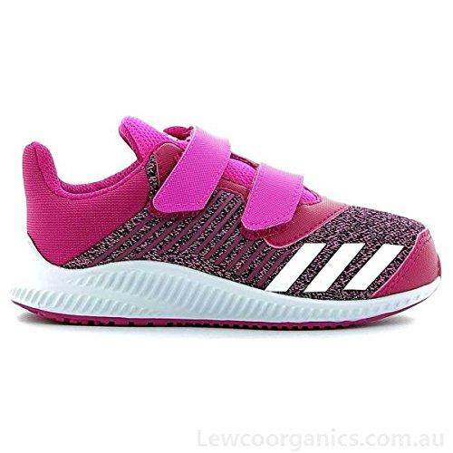 adidas Unisex-Kinder Zapatillas De Running Fortarun Cf I Rosimp/ftwbla/rosfue Fitnessschuhe, Pink (Rosa 000), 22 EU -