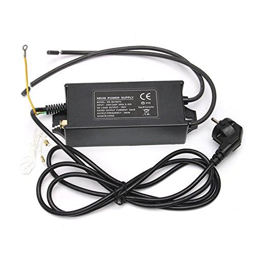 ACDGS 10000V 10KV 30mA 100W 10M Alimentatore elettronico raddrizzatore trasformatore neon ACDGS (Color : Colour: Black-Size: 160 * 73 * 47mm)
