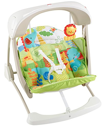 Fisher-Price - Columpio hamaca portable 2 en 1 (Mattel CCN92)