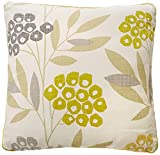 Fusion–Karsten–100 % Baumwoll-Bezug, baumwolle, lime, Cushion Cover: 43 x 43cm