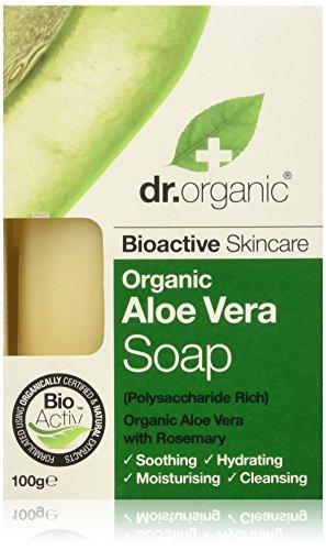 Dr Organic - Jabón Aloe Vera 100 gr