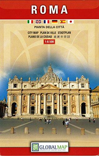 Roma centro 1:8.500 (Piante del centro città)