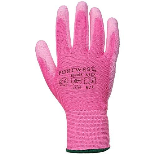schuhe mit PU Beschichtung (Medium) (Pink) ()