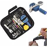 BABAN 144Pcs Watch Repair Tool Set Kit:Case Opener Lin Pin Remover Holder Spring Bar