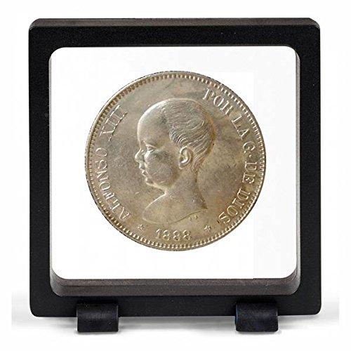 IMPACTO COLECCIONABLES Monedas Antiguas   España 5 Pesetas de Plata de Alfonso XIII. Pelón
