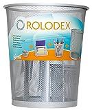 Rolodex Organiseur de bureau en métal Gris Set de 4