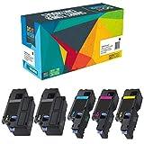 5 Do it Wiser Kompatibel Toner für Dell E525w | 593-BBLN 593-BBLL 593-BBLZ 593-BBLV