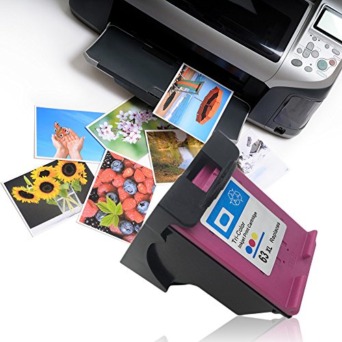 Banggood 1 pc for HP63XLC Tri-color Ink Cartridge for HP...