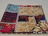 Tribal Textiles asiatiques Multicolore Paisley Imprimé patchwork Reine - Best Reviews Guide